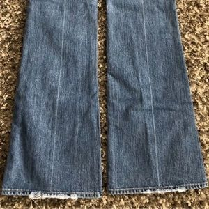 Size 28 7 For All Mankind Jeans. Inseam 33""